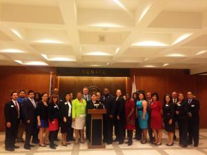 DHCF at Lobby Days.  March 25, 2015